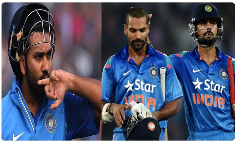 No Chance To Rohit Sharma, No Chance To Rohit Sharma: ఆ జట్టులో కోహ్లీ, ధావన్లకు చోటు.. రోహిత్కు నో ఛాన్స్..