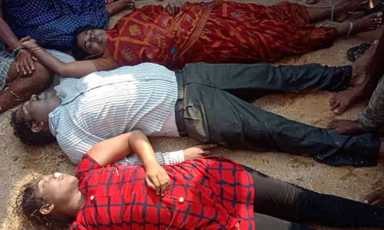 Three Family members dies after Car fell in AMRP Link Canal at Nalgonda, ఘోర రోడ్డు ప్రమాదం: కాలువలోకి దూసుకెళ్లిన కారు.. ముగ్గురు మృతి!