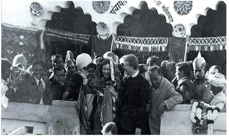 Former American President Jimmy Carter visits Haryana, అమెరికా అధ్యక్షుడి పేరుతో ఇండియాలో ఓ గ్రామం.. ఎక్కడంటే!