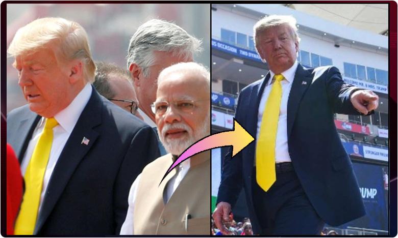 story behind trump neck tie, Trump tie story: ట్రంప్ గారి 'టై' కథ.. కలర్ వెనుక కథ ఇదే